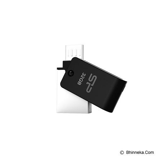 SILICON POWER Mobile 32GB [X21] - Black - Usb Flash Disk Basic 2.0